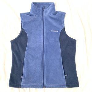 Women's Benton Springs Blue Fleece Vest XL